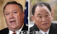 ความพยายามเตรียมพร้อมให้แก่การพบปะสุดยอดระหว่างสหรัฐกับสาธารณรัฐประชาธิปไตยประชาชนเกาหลี