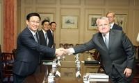 ศักยภาพความร่วมมือด้านเศรษฐกิจระหว่างเวียดนามกับหุ้นส่วนต่างๆ