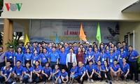 เปิดค่ายฤดูร้อนเยาวชนและยุวชนชาวเวียดนามที่อาศัยในต่างประเทศ ณ นครโฮจิมินห์