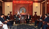 ผู้บริหารนครโฮจิมินห์ให้การต้อนรับประธานสหพันธ์ส.ส.มิตรภาพญี่ปุ่น-แม่โขง