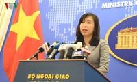 """ปฏิกิริยาของเวียดนามต่อการที่จีนจัดกิจกรรมรำลึกครบรอบ6  ปีการจัดตั้งเขตที่เรียกว่า """"นครซานซา"""""""