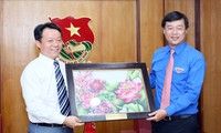 กระชับความร่วมมือระหว่างเยาวชนเวียดนามกับเยาวชนจีน