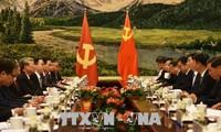 กระชับความสัมพันธ์ระหว่างเวียดนามกับจีนให้พัฒนาอย่างมีเสถียรภาพและเข้มแข็งในเวลาข้างหน้า