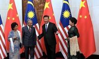 จีนและมาเลเซียกระชับความร่วมมือในหลายด้าน