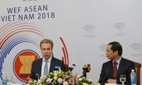 กิจกรรมเตรียมความพร้อมให้แก่การประชุมฟอรั่มเศรษฐกิจโลกเกี่ยวกับอาเซียนหรือWEF ASEAN 2018