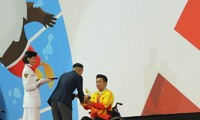 เวียดนามคว้าเหรียญทองในการแข่งขันกีฬาเอเชียนพาราเกมส์ 2018