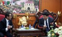 กระชับความร่วมมือด้านสื่อมวลชนระหว่างเวียดนามกับประเทศมองโกเลีย