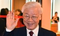 ผู้นำประเทศต่างๆแสดงความยินดีต่อเลขาธิการใหญ่พรรค ประธานประเทศเหงวียนฟู้จ่อง