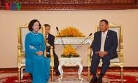 กระชับความสัมพันธ์สามัคคี มิตรภาพและความร่วมมือในทุกด้านระหว่างเวียดนามกับกัมพูชา