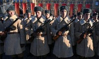รัสเซียรำลึกครบรอบ 101ปีการปฏิวัติเดือนตุลาคมรัสเซีย