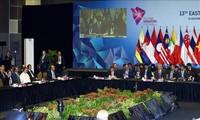 การประชุมระดับสูงเอเชียตะวันออก หรือ  EAS อนุมัติแถลงการณ์ร่วม 5 ฉบับ