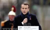 ประธานาธิบดีฝรั่งเศสเรียกร้องให้สร้างสรรค์ยุโรปที่มีเอกภาพ