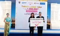 การท่องเที่ยวแห่งประเทศไทย (ททท.) ต้อนรับนักท่องเที่ยวเวียดนามคนที่ ๑ ล้าน