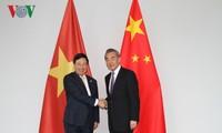 กระชับความสัมพันธ์หุ้นส่วนร่วมมือยุทธศาสตร์ในทุกด้านระหว่างเวียดนามกับจีน