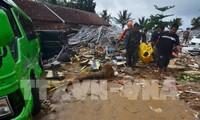 ผู้นำเวียดนามส่งโทรเลขแสดงความเสียใจถึงผู้นำประเทศและประชาชนอินโดนีเซีย