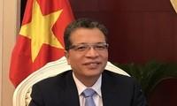 เอกอัครราชทูตเวียดนามประจำประเทศจีนพบปะกับสื่อมวลชนจีน