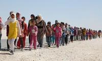สหประชาชาติมีความวิตกกังวลเกี่ยวกับกระแสผู้ลี้ภัยในซีเรีย