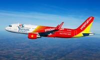 สายการบิน Vietjet Air เปิดเส้นทางบินตรงระหว่างเมืองฟู้ก๊วกกับฮ่องกง ประเทศจีน