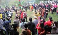 หมู่บ้านวัฒนธรรมชนเผ่าต่างๆในเวียดนามกับเทศกาลยามวสันต์
