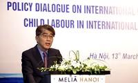 การสนทนาด้านนโยบายเกี่ยวกับการใช้แรงงานเด็กท่ามกลางคำมั่นระหว่างประเทศ