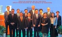 ภารกิจของรองนายกรัฐมนตรีสิงคโปร์ เตียว ชี เฮียน ณ นครโฮจิมินห์