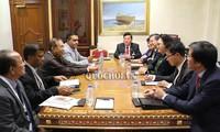 ภารกิจของประธานสภาแห่งชาติเหงวียนถิกิมเงินนอกรอบการประชุม IPU-140