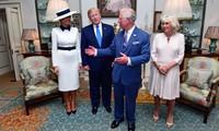 ประธานาธิบดีสหรัฐโดนัลด์ ทรัมป์เยือนประเทศอังกฤษ