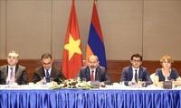 นายกรัฐมนตรีอาร์เมเนียเสร็จสิ้นการเยือนเวียดนามอย่างเป็นทางการ
