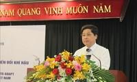 เวียดนามและสวิสเซอร์แลนด์ประยุกต์ใช้เทคโนโลยีดาวเทียมและการประกันภัยในการผลิตข้าว