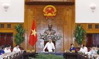 รัฐบาลประชุมเกี่ยวกับโครงการลงทุนด้านโครงสร้างพื้นฐานต่างๆ