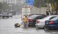 พายุโซนร้อนวิภาพัดถล่มมณฑลกวางตุ้ง ประเทศจีน