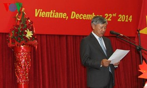 Feierlichkeiten zum 70. Gründungstag der vietnamesischen Volksarmee im Ausland