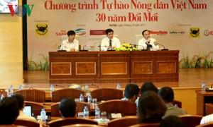 Tôn vinh 63 nông dân xuất sắc và 24 gương mặt nông dân tiêu biểu trong 30 năm đổi mới
