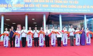 Localities respond to Vietnam Sea and Islands Week 2017