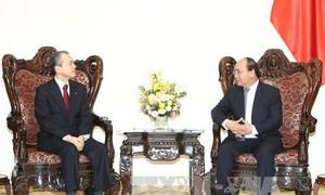 Thủ tướng Nguyễn Xuân Phúc tiếp Tổng giám đốc Công ty Tokyo Gas