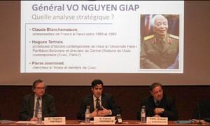 Pháp tổ chức hội thảo về chiến lược của Đại tướng Võ Nguyên Giáp
