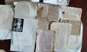 War letters illustrate Vietnamese people's aspiration for peace