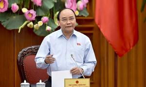 Premierminister Nguyen Xuan Phuc tagt mit Provinzleitern in Soc Trang