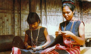Les costumes Sedang