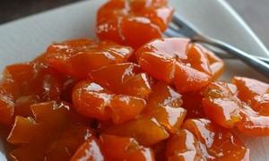 自制美味的金桔蜜饯过春节