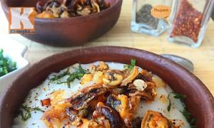 Mussel porridge