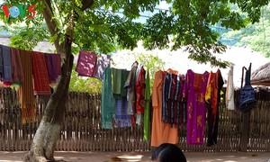 My Nghiep brocade weaving village