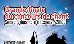 Finale du concours national de chant en français 2015