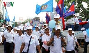 Pemilu Parlemen Kamboja: Kepercayaan rakyat mencapai kemenangan terbesar