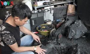 Coal sculpture survives in Quang Ninh