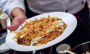 Japan's Okonomiyaki pancake