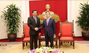 Việt Nam sẵn sàng chia sẻ kinh nghiệm phát triển kinh tế với Lào