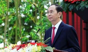 Lãnh đạo các quốc gia gửi điện chia buồn về việc Chủ tịch nước Trần Đại Quang từ trần