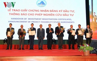 Da Nang city welcomes new investment waves