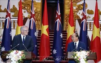 Thủ tướng Australia kết thúc chuyến thăm chính thức Việt Nam